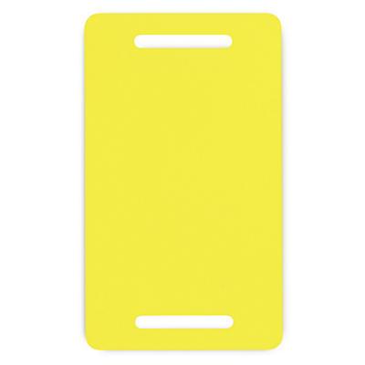 Étiquette PVC pour feuillard##PVC-Etikett für Umreifungsband