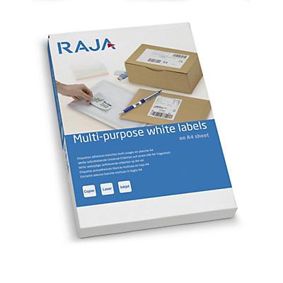 Étiquettes laser blanches Raja##Laseretiketten voor kopieerapparaten en laserprinters Raja