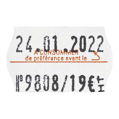 Étiquettes en papier 26x16 mm pour JUDO26##Etiketten für Preisauzeichner JUDO26