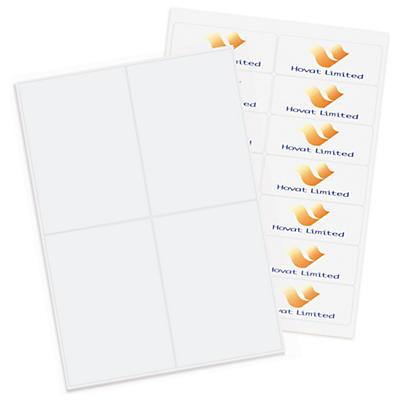 Etiquettes en planche format Colissimo