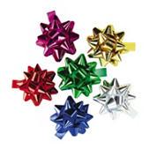 Etoile couleur pour emballage cadeau