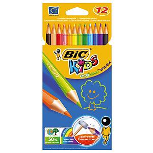 Etui de 12 crayons de couleur Evolution Bic Kids