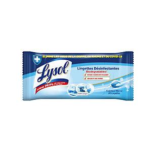 Etui de 80 lingettes désinfectantes multi-usages Lysol