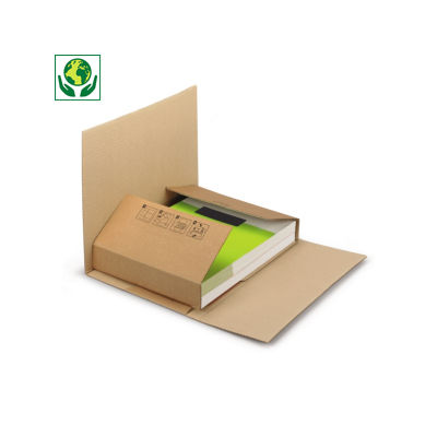 Étui-croix postal carton brun