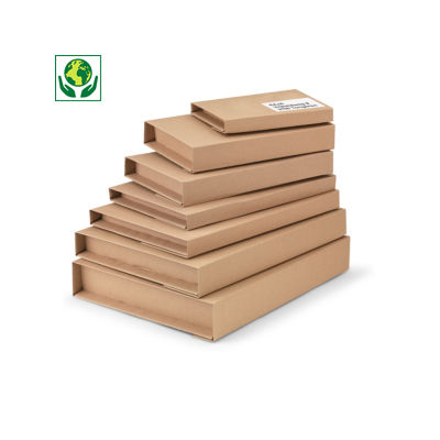 Étui Multiwell - brun##Postverpakking Multiwell met zelfklevende sluiting
