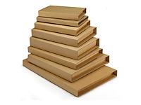 Étui postal brun avec fermeture adhésive pour livres Rajabook