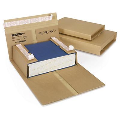 Étui postal brun pour livres RAJABOOK PRO