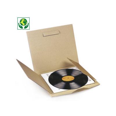 Etui postal carton pour disque vinyle