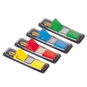 Etui van 4 verdelers van 35 indexen Post-It breedte 12 mm klassieke kleuren