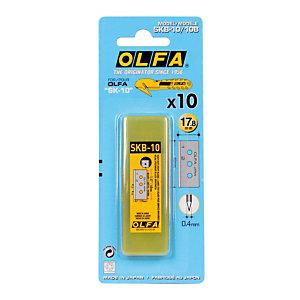 Etui van lemmeten Olfa voor foliesnijder SK10, 10 lemmeten