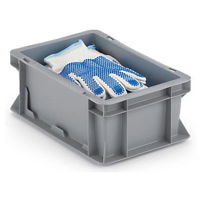Euro plastic stacking containers