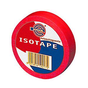 Eurocel® Nastro isolante - Colore Rosso - Dimensioni 19 mm x 25 m