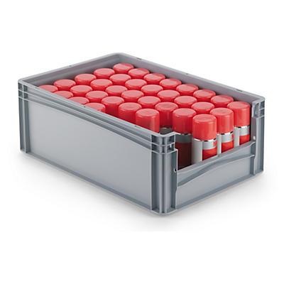 Euronorm-Stapelbehälter mit halbhoher Öffnung