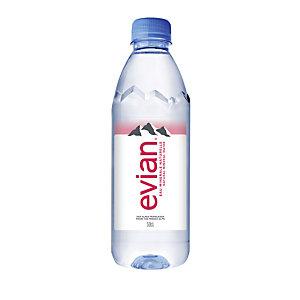 Evian Prestige, Eau minérale naturelle plate - bouteille 50 cl