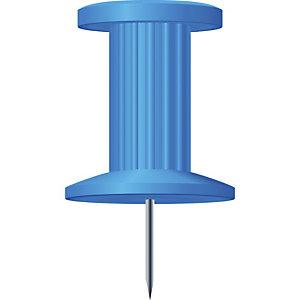 Exacompta Boîte de 25 épingles Push Pins - Hauteur de pointe 7mm - 10mm de diamètre