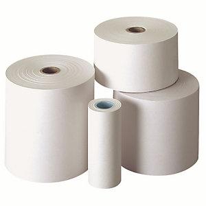 Exacompta Bobine calculatrice 57 x 50 x 12 MM - Papier offset 1 pli 60 g - Longueur 20 M (Lot de 10)