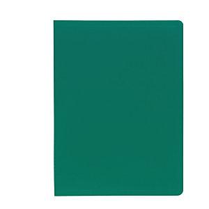Exacompta Carpeta de fundas A4, 100 fundas, verde