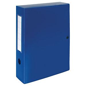 Exacompta Carpeta de proyectos, A4, polipropileno, lomo 80 mm, azul