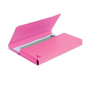 Exacompta Cartellina a busta - Colore rosa (confezione 10 pezzi)
