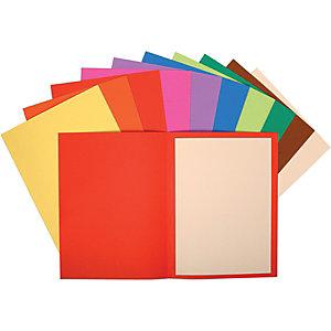 Exacompta Cartellina semplice in cartoncino (confezione 10 pezzi)