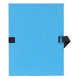 Exacompta Chemise dos extensible sans rabat 24 x 32 cm bleu clair