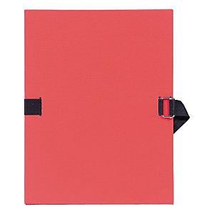 Exacompta Chemise dos extensible sans rabat 24 x 32 cm rouge