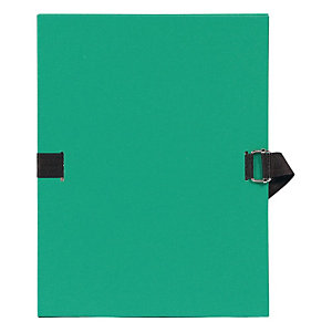 Exacompta Chemise dos extensible sans rabat 24 x 32 cm vert clair