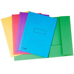Exacompta Chemise imprimée 2 rabats Forever - Carton recyclé 290g/m² - Format 24 x 32 cm - Dos 2 cm - Coloris assortis