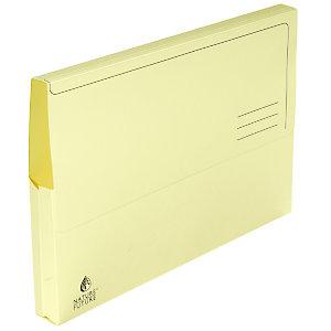 Exacompta Chemise-pochette  - Carte JURA 220g - Jaune