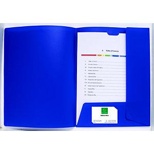 Exacompta Chemise de présentation Kreacover®A4, 100feuilles, 240x320mm, polypropylène, blanc