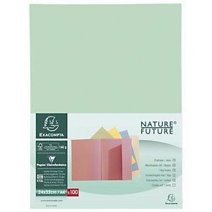 Exacompta Chemise à rabat NatureFuture®Jura160A4, 200feuilles, 240x320mm, carton comprimé, v