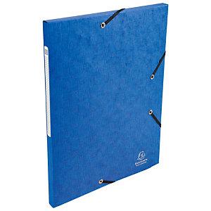 Exacompta ChemiseScottenNatureFuture®A4 à 3rabats avec élastique de retenue, 240x320mm, cart