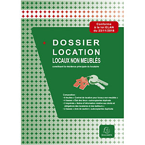 Exacompta Dossier location locaux non meublés