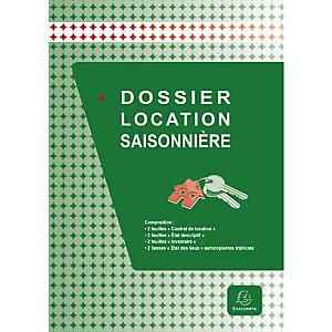Exacompta Dossier location saisonnière