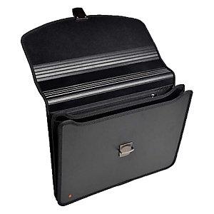 Exacompta Exabag Carpeta de congresos con 2 compartimentos y asa