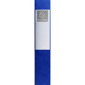 Exacompta Exabox Scotten Nature Future® Scatola archivio Formato A4 Capacità 500 fogli 60 mm Dorso Cartoncino Blu