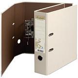 Exacompta Forever® Archivador de palanca, A4, Lomo 80 mm, Capacidad 520 hojas, Cartón 100% reciclado, Arena