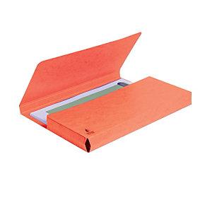 Exacompta Forever® Cartella portadocumenti A4 Capacità 200 fogli 245 x 325 mm Cartoncino riciclato Rosso (confezione 10 pezzi)