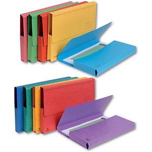 Exacompta Forever® Cartella portadocumenti A4 Capacità 200 fogli 245 x 325 mm Cartoncino riciclato Colori assortiti (confezione 5 pezzi)