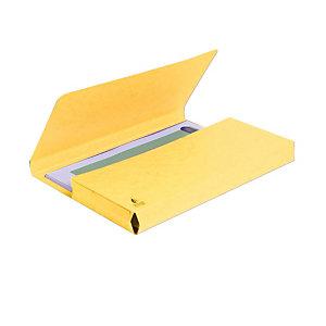 Exacompta Forever® Cartella portadocumenti Formato A4 Capacità 200 fogli 245 x 325 mm Cartoncino riciclato Giallo (confezione 10 pezzi)