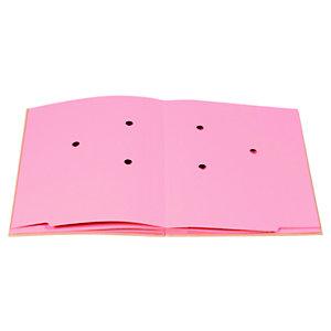 Exacompta Forever Portafirmas en cartón kraft A4 de 150 hojas, 20 compartimentos, marrón