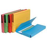 Exacompta Forever® Subcarpetas con bolsillo de cartón prensado reciclado 200 hojas tamaño A4 de 240 x 325 mm colores vivos variados