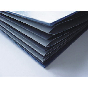 Exacompta Harmonika® Exactive® Clasificador con compartimentos con lomo expansible y ventanas troqueladas en polipropileno tamaño A4 para 450 hojas con 9 compartimentos 240 x 320 mm en negro