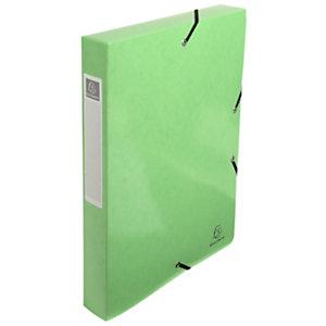 Exacompta Iderama, Carpeta de proyectos, A4, cartón prensado con polipropileno, 350 hojas, lomo de 40 mm, lima