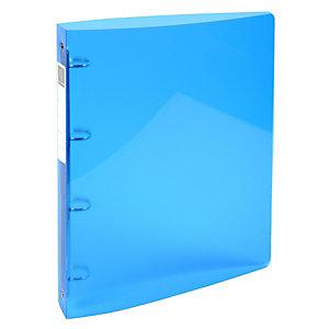 Exacompta Iderama PP, classeur de présentation, A4 maxi, tranche de 40 mm de largeur, capacité de 275 feuilles, polypropylène, bleu ciel
