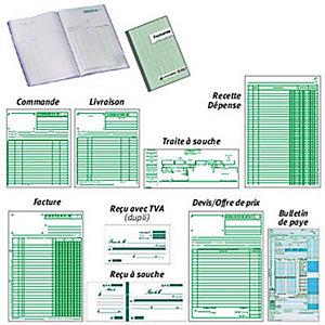 Exacompta Manifold COMMANDES - 29,7 x 21 cm - 50 feuilles autocopiantes 2 exemplaires