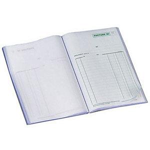 Exacompta Manifold FACTURES - 21 x 14,8 cm - 50 feuilles autocopiantes 3 exemplaires