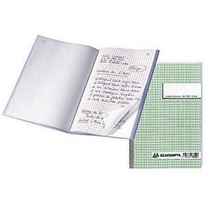 Exacompta Manifold quadrillé 5x5 - 21 x 14,8 cm - 50 feuilles autocopiantes 2 exemplaires