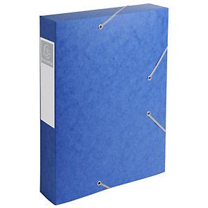 Exacompta Nature Future - boîte de classement Cartobox dos 60 mm bleu