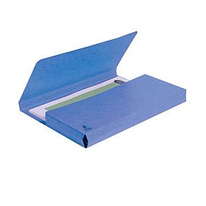 Exacompta Nature Future® Cartella portadocumenti Formato A4 Capacità 300 fogli Cartoncino da 220 g/m² Blu (confezione 10 pezzi)